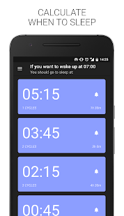 Sleep Time – Cycle Alarm Timer 6