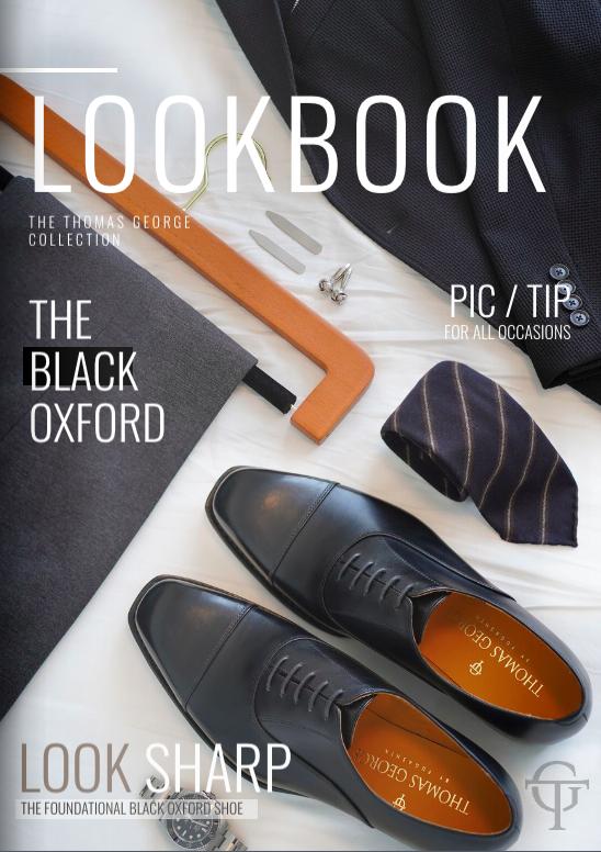 Look Book Black Oxford