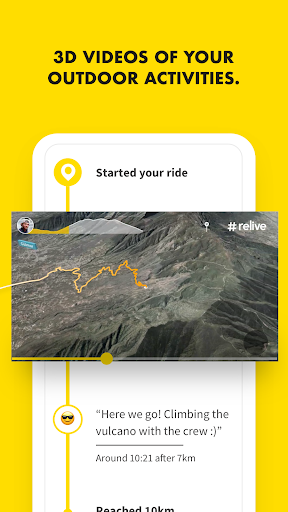Relive: Run, Ride, Hike & more Apk 1