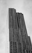 Photo: Did you realize one side of the New York Gehry building is flat?