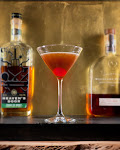 the Frozen Cherry Manhattan
