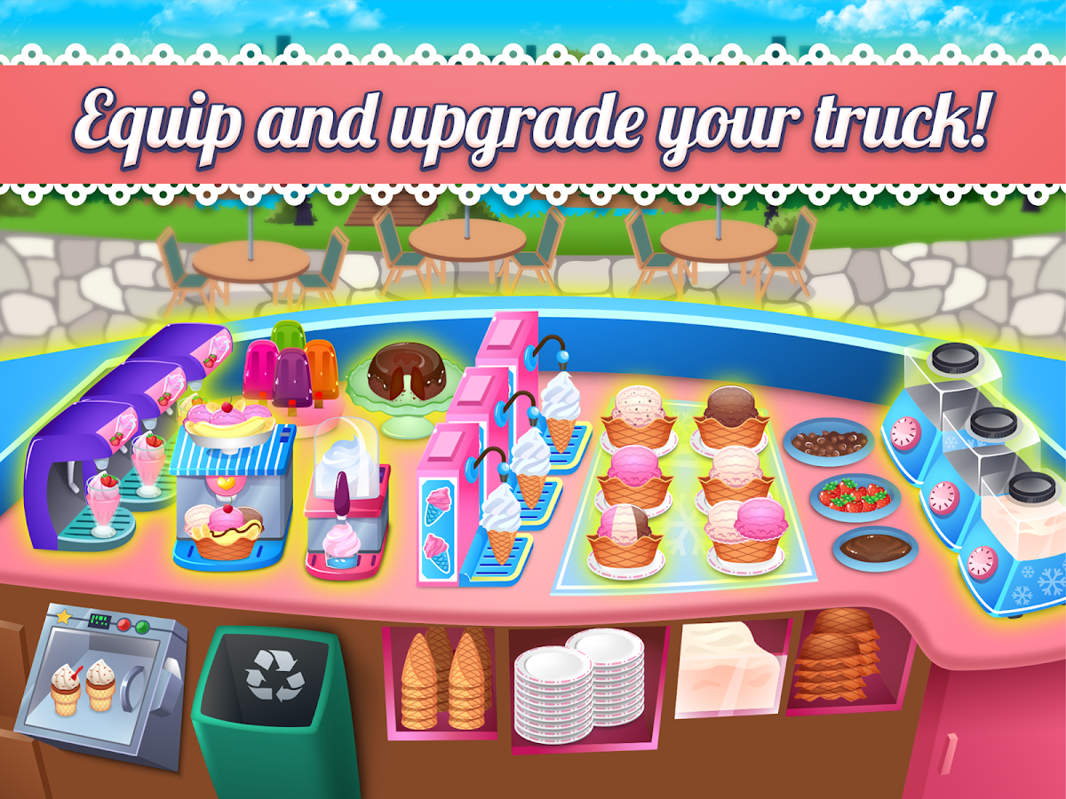 My Ice Cream Shop - Time Management Game- screenshot