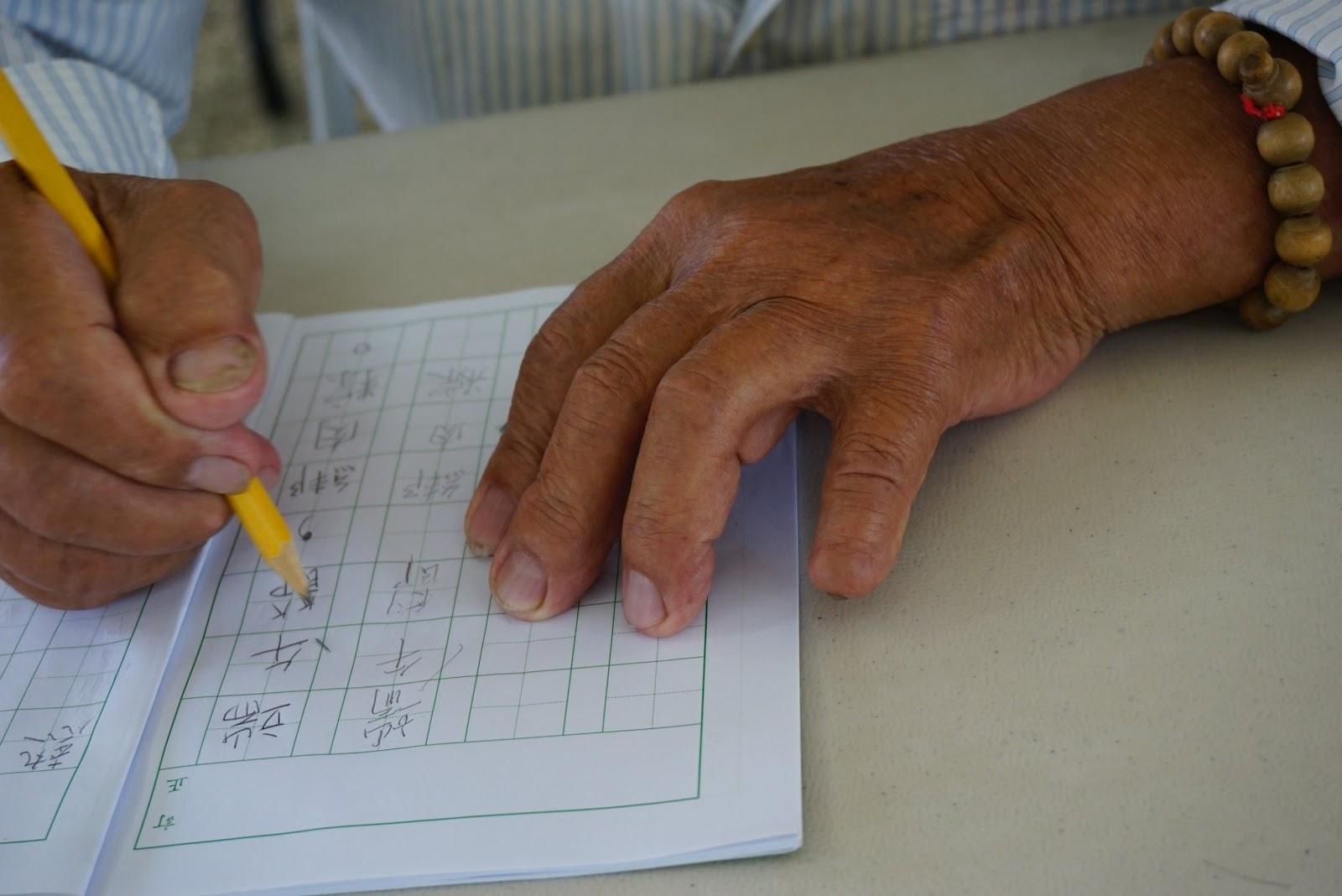 少壯時做啥去?老大才來學識字!——龍潭村識字班札記(三)