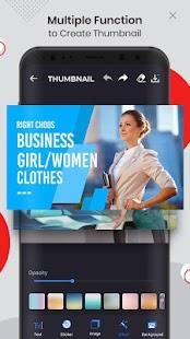 Ultimate Thumbnail Maker For Youtube: Banner Maker Screenshot
