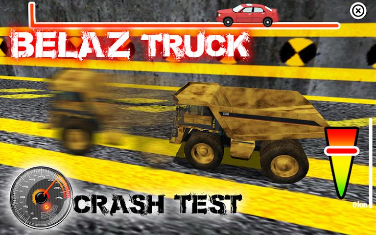 android BELAZ Truck Crash Test Screenshot 1