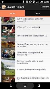Westlanders.nu- screenshot thumbnail