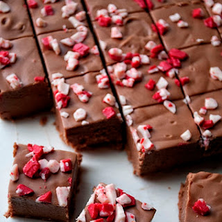 Kahlua Peppermint Mocha Fudge Recipe