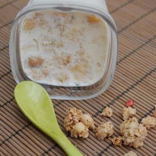 Muesli and Honey Yogurt.