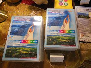 """Photo: DVD """"Zeitenwende"""" über Inaaras Reise im Juni 2013 mit 40 Teilnehmern nach Bosnien-Visoko zur höchsten Pyramide der Welt!"""