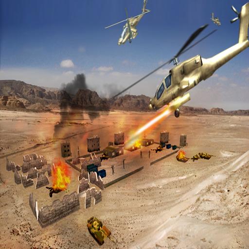 ステルスヘリコプター戦闘機戦争 動作 App LOGO-硬是要APP