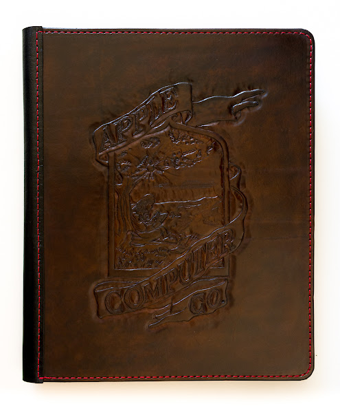 Photo: The whole cover has a nice combination of brown, black and red and is hand-polished.www.highonglue.com