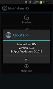 Minimalism HD Free LWP v1.0.2
