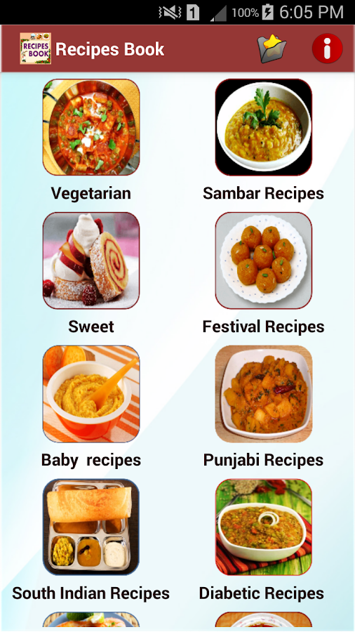 Recipes book android apps on google play recipes book screenshot forumfinder Image collections