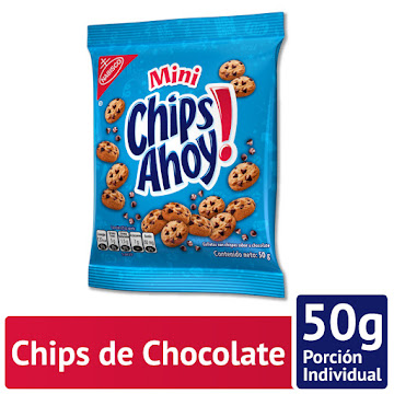 Galletas Mini Chips   Ahoy! Chocolate Chips Paquete X50G.