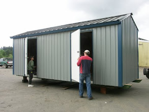 Photo: two door storage units like this one will keep your belongings safe and dry.