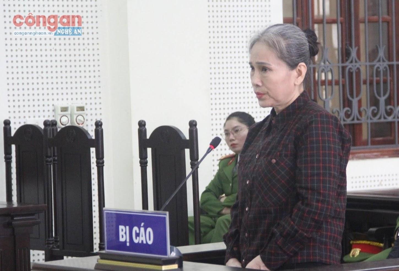 Bị cáo Phạm Thị Mai
