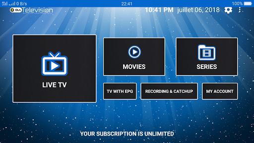Ola IPTV 4.6 screenshots 1