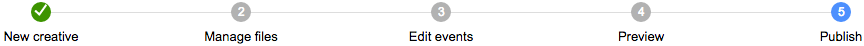 Step 5: Publish