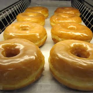 Peach–Krispy Kreme Bread Pudding.
