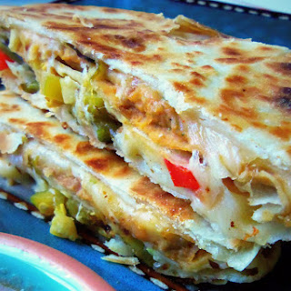 Double-Stacked Quesadillas.
