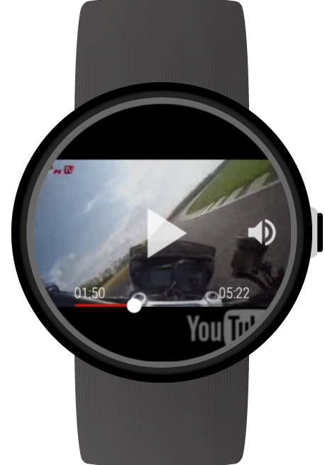 Video for Android Wear&YouTube- スクリーンショット