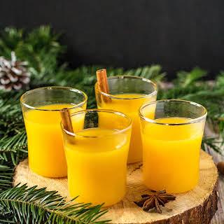 Hot Christmas Orange Juice.