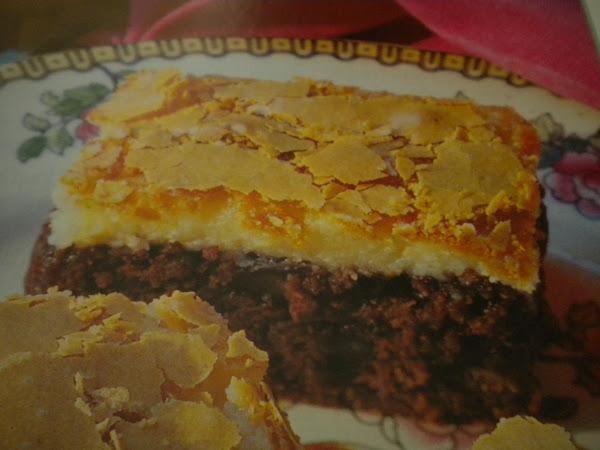 Rich & Creamy Brownie Bars Recipe