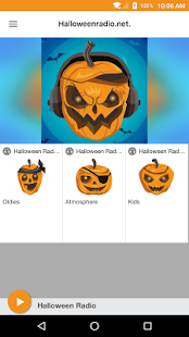 Halloweenradio.net. - náhled