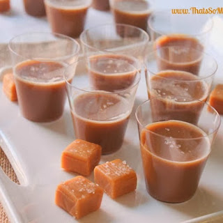 Salted Caramel Jello Shots