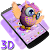 Cute Owl 3D Theme file APK for Gaming PC/PS3/PS4 Smart TV