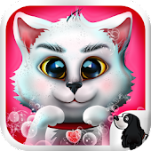Kitty Pet Wash Dressup Game