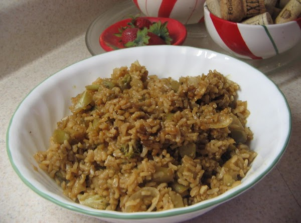 In a medium kettle or pot add the water and teriyaki sauce; stir. Bring...