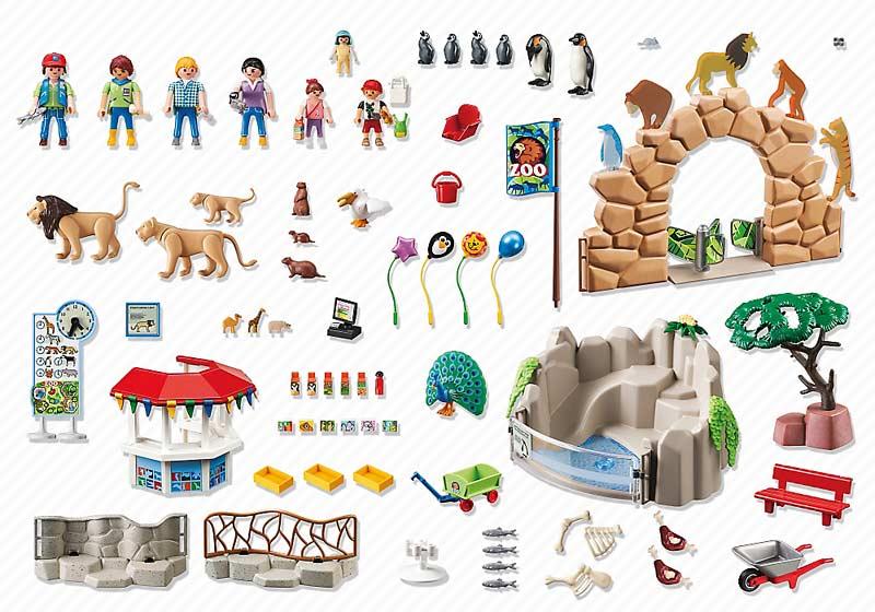 Contenido de Playmobil® 6634 Gran Zoo
