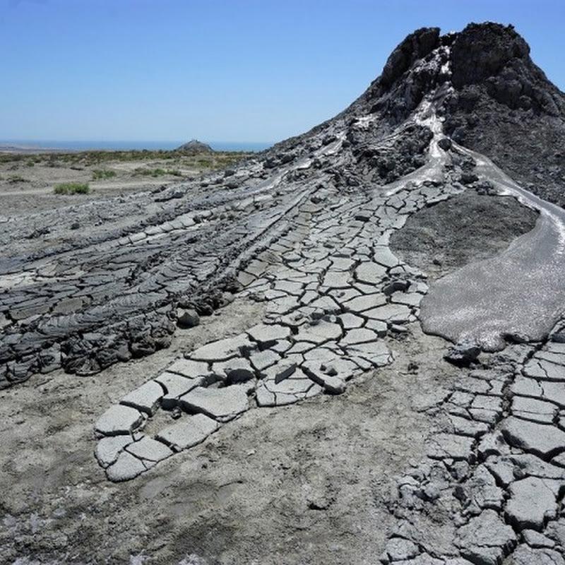 あの人気番組「イッテQ!」にも登場した不思議な火山、アゼルバイジャンのマッドボルケーノに行ってみた