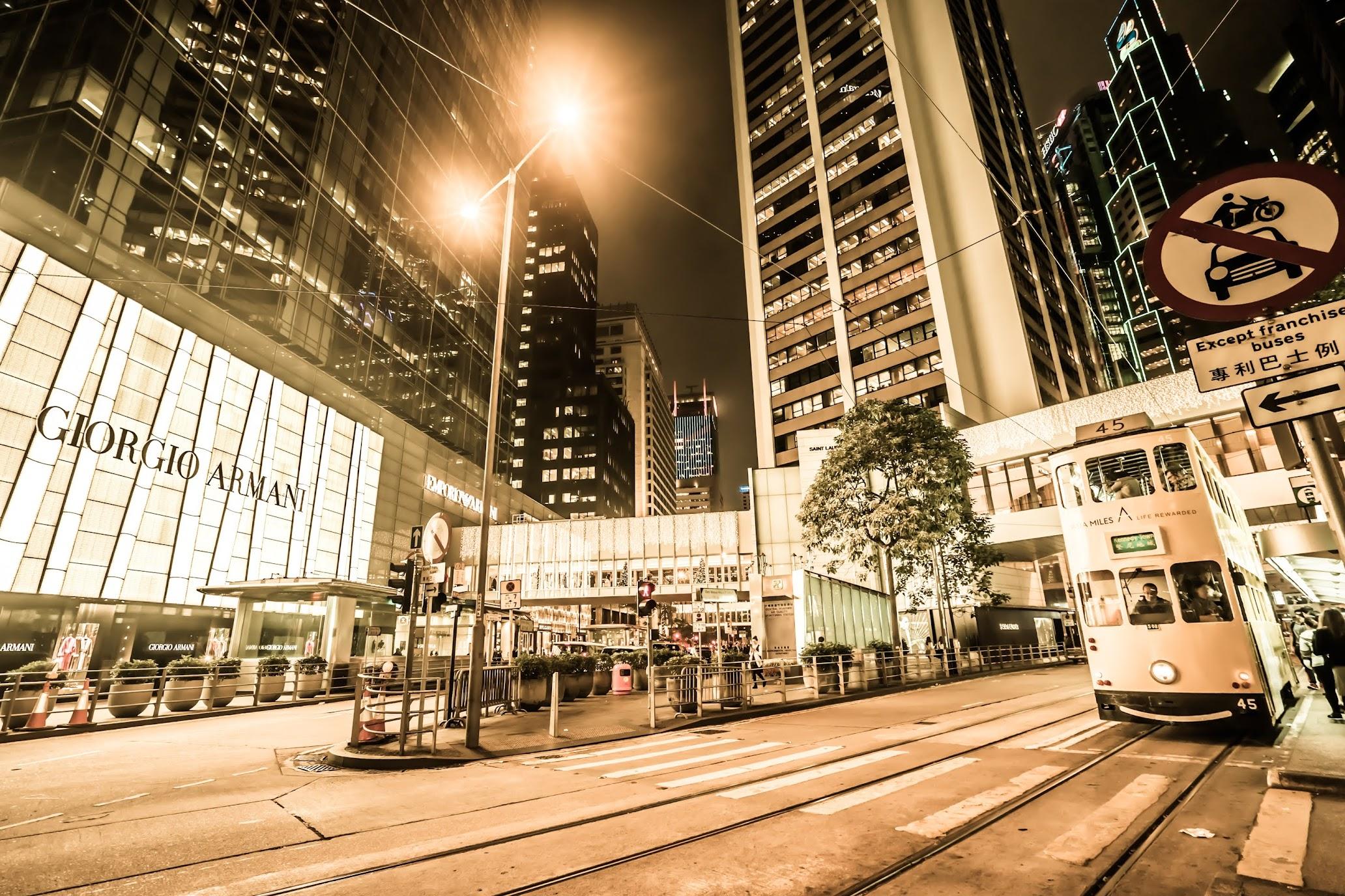 Hong Kong Central Night view2