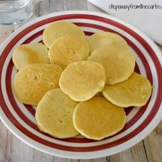 Low Carb Almond Pancakes.