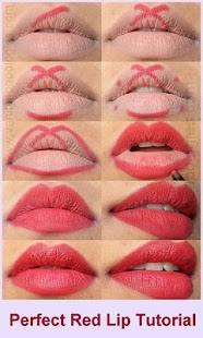 Makeup - Make Up Step by Step - Lips - Eyebrow