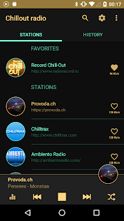 Chillout & Lounge music radio Screenshot