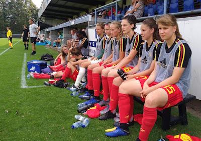 Red Flames U19 nipt onderuit tegen Duitsland