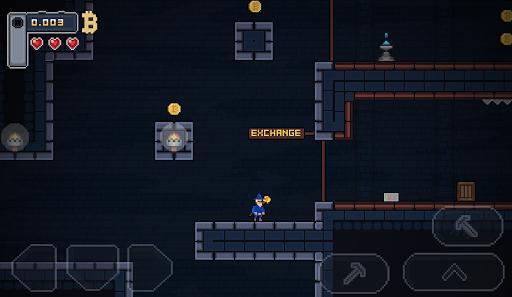 Télécharger BitcoinMiner - Platformer Game apk mod screenshots 1