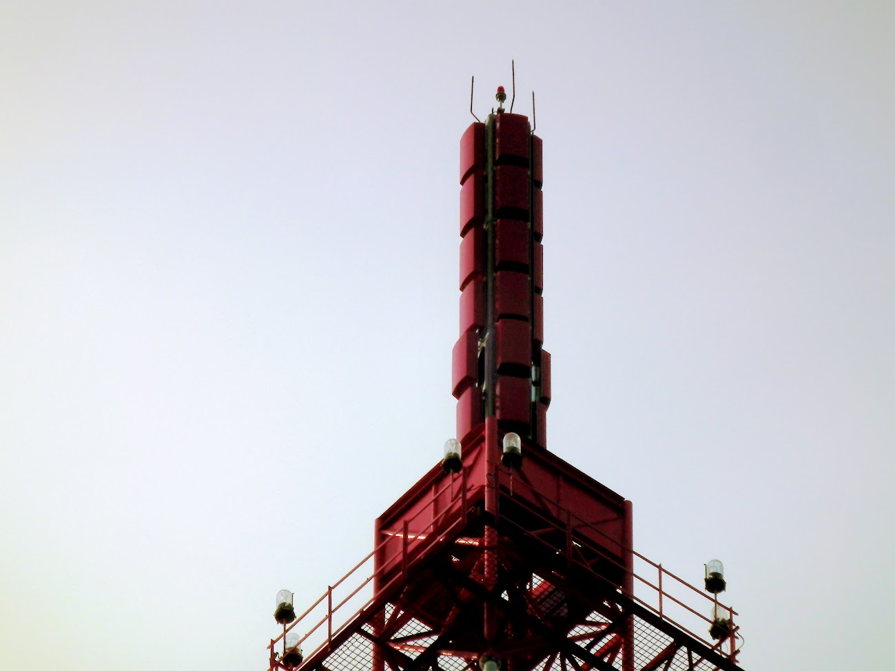 Aggtelek/Csengő-tető - TV-URH gerincadó állomás