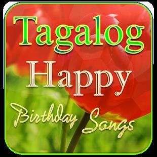 Tagalog Happy Birthday Songs - náhled