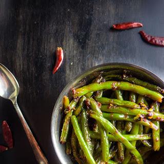 Spicy Stir Fried Sichuan Green Beans Recipe