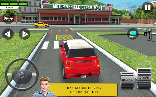 City Car Driving & Parking School Test Simulator apkdebit screenshots 17