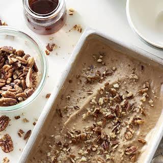 Vegan Maple Pecan Ice Cream.