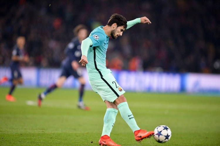 Le Barça fixe le prix d'André Gomes