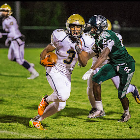 Ricky Slade Jr. by Elk Baiter - Sports & Fitness American and Canadian football ( hylton, play-off, running back, football, high school, varsity, colonial forge, sports,  )