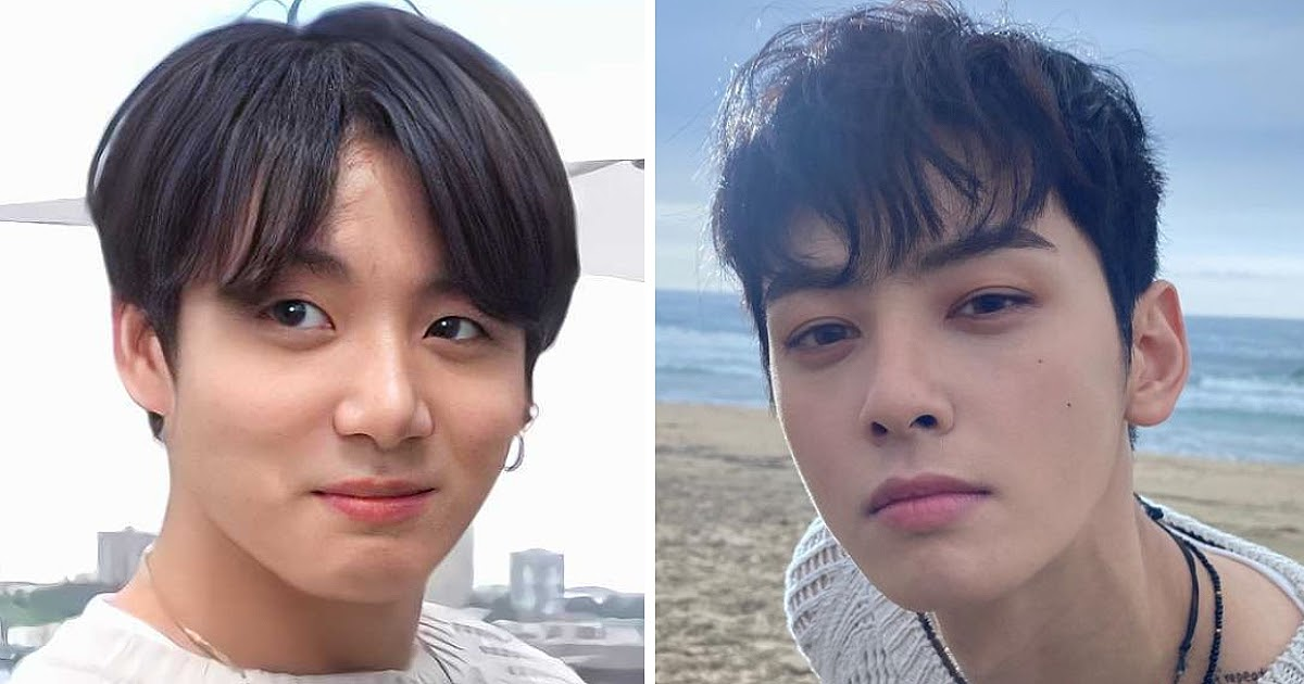 BTS's Jungkook And ASTRO's Cha Eunwoo Once Wore The Same Sweater But Served Completely Different Vibes