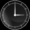 Elegant Gloss Clock Widget icon