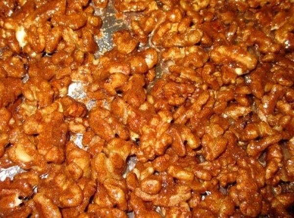 Spread evenly into prepared pan. Bake for 30 minutes, stirring occasionally, until well golden...
